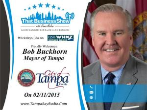 Bob Buckhorn Show Card (Small)