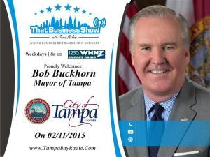 Bob Buckhorn Show Card (Small)