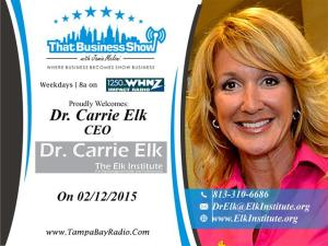 Carrie Elk Show Card (Small)