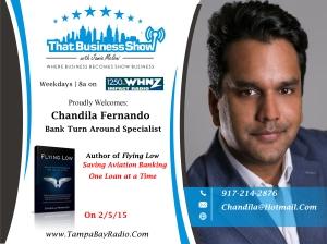 Chandila Fernando Show Card