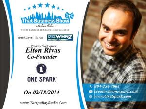 Elton Rivas Show Card (Small)