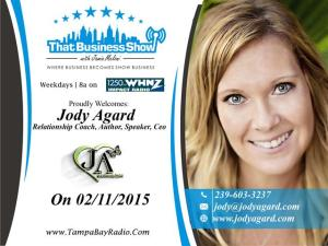 Jody Agard Show Card (Small)