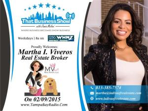 Martha Viveros Show Card (Small)