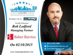 Rob Ledford Show Card (Small)