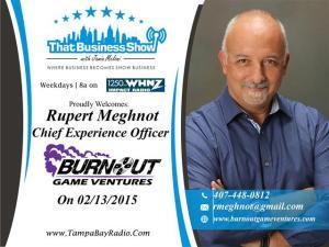 Rupert Meghnot Show Card (Small)