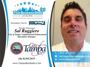 Sal Ruggiero Show Card