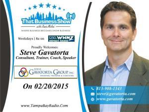 Steve Gavatorta Show Card (Small)