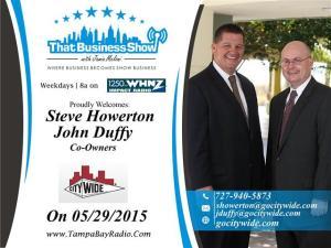 Steve Howerton and John Duffy