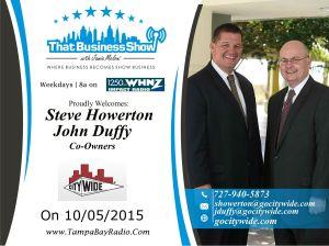 Steve Howerton and John Duffy oct 5th
