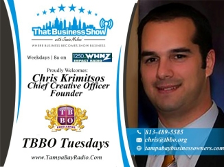 Chris Krimitsos with TBBO
