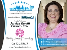 Jessica Rivelli with The Working Women of Tampa bay