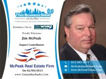 Jim McPeak with McPeak Real Estate Firm