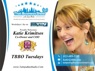 Katie Krimitsos with TBBO