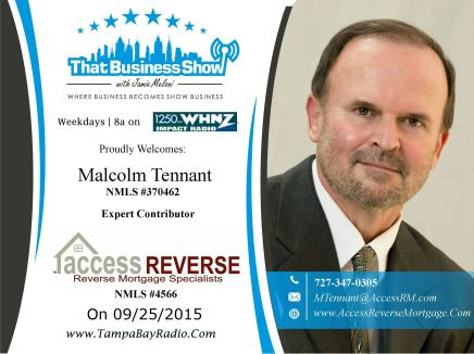 Malcolm Tennant with Access Reverse Mortgage