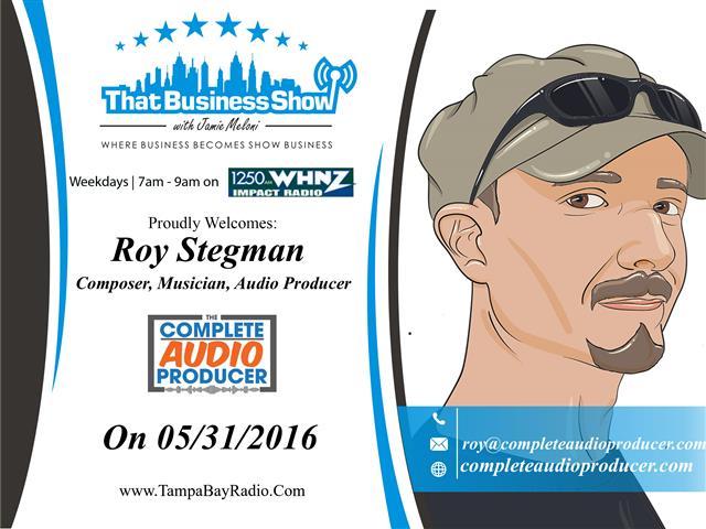 Roy Stegman (Small)