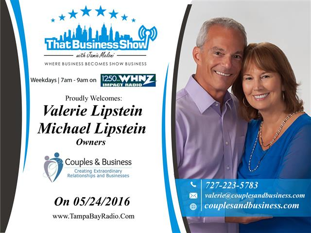 Valerie and Michael Lipstein (Small)