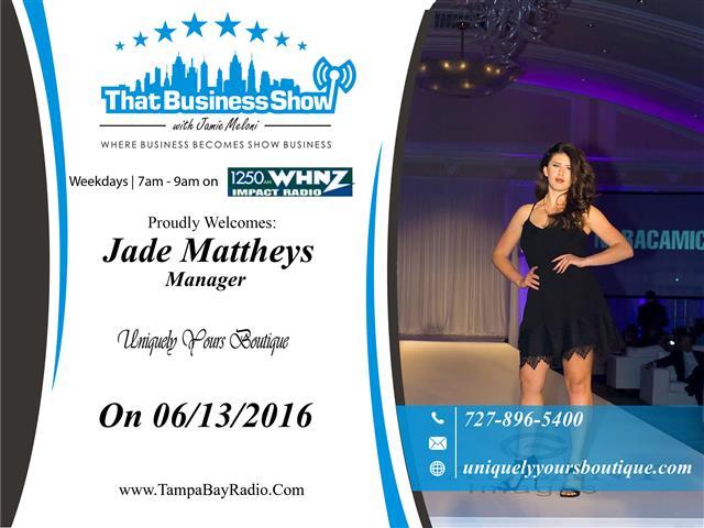 Jade Mattheys (Small)