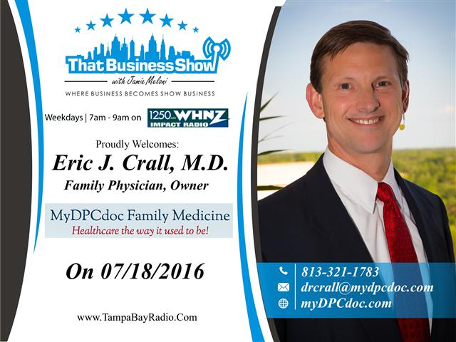 Dr. Eric Crall