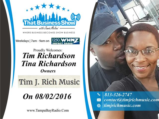 Tim and Tina Richardson
